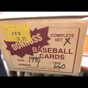 Dunruss 1990 ⚾️ 660 card set